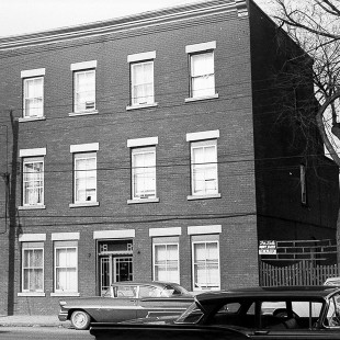 Former 179 Broad Street in Lebreton Flats in Ottawa