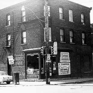 The 90 Booth Street in Lebreton Flats, Ottawa in 1962