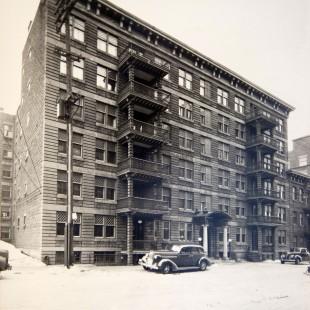 Les apartements Aylmer sur la rue Slater