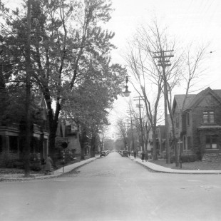 Lisgar street at O'Connor in Ottawa in 1938