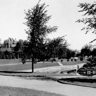 Strathcona Park in Ottawa around 1900