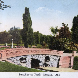 Former Bridge at Strathcona Park