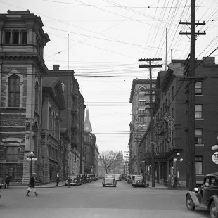 Metcalfe and Queen Streets Intersection in 1938