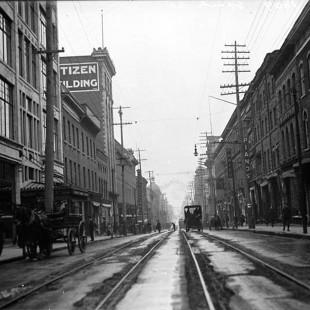 Rue Sparks en 1911