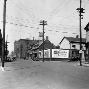 Albert Street @ Metcalfe Street in Ottawa in 1938