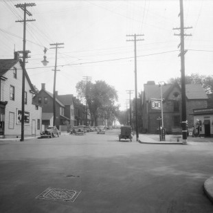 Albert Street in Ottawa at Metcalfe in 1938