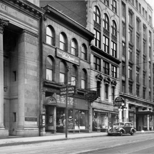 Banque of commerce on Sparks Street in 1940