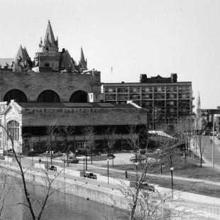 Gare Union avec la nouvelle promenade Colonel By