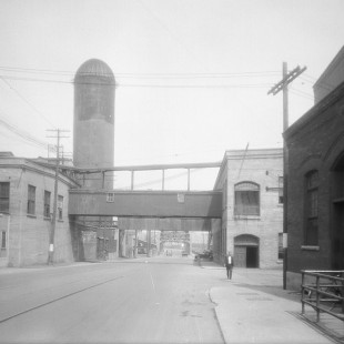 Chaudiere Bridge on Victoria Island in 1938