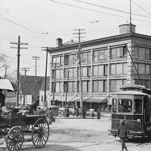 Daly building on Rideau around 1900
