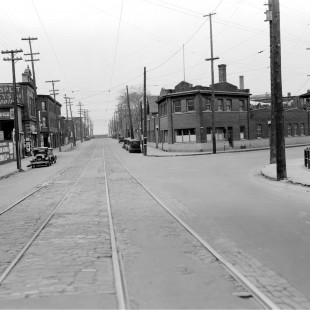 Intersection des rues Booth et Duke aux plaines Lebreton