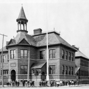 Elgin Street Public School around 1900