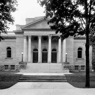 Église de la Science chrétienne sur la rue Metcalfe à Ottawa vers 1915