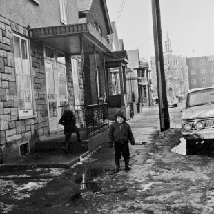 Former Notre-Dame Street in Lowertown East in Ottawa in 1968