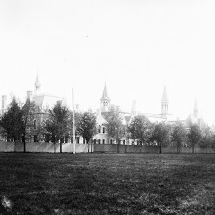 Normal school in Ottawa in 1893
