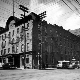 Windsor Hotel where is now the RBC building
