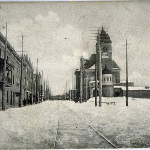 Main Street in Hull around 1890