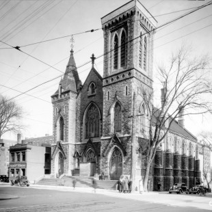 Knox Church on Elgin in 1938