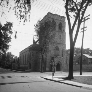 Knox Church on Elgin in the 1930 in Ottawa