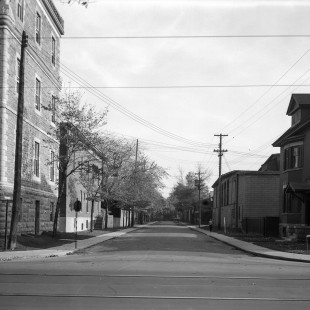 Former Hastery Street @ Laurier Street in Ottawa in 1938