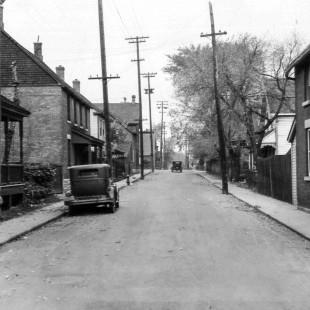 rue Percy à Ottawa direction nord