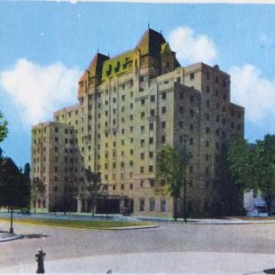 Hôtel Lord Elgin sur la rue Elgin à Ottawa