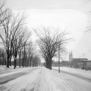 Mackenzie Avenue in 1938 in Ottawa