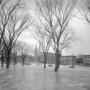 Parc Major Hill à Ottawa en 1938