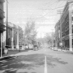 metcalfe street at Laurier avenue.