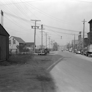 Middle Street on Victoria Island in Ottawa in 1938