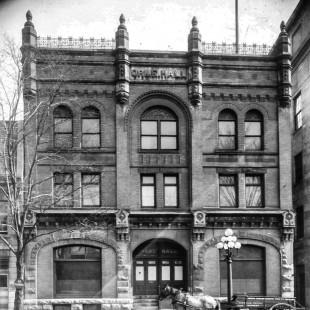Orme Hall sur la rue Wellington à Ottawa.
