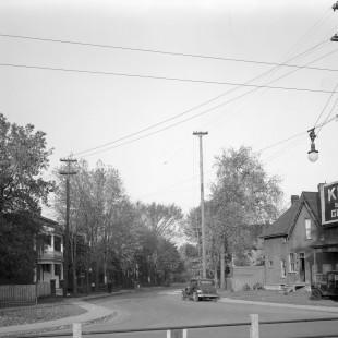 ancien segment de la rue Osgoode qui croisait la rue Nicholas