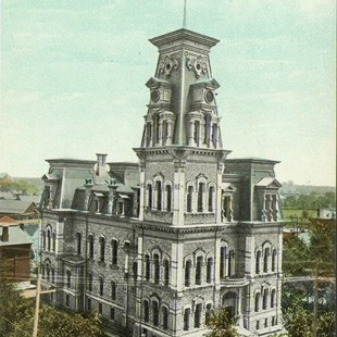 Former Ottawa City Hall in 1910