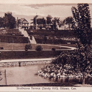 Strathcona Park Looking North in Ottawa around 1910