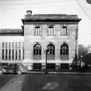 Bibliothèque municipale d'Ottawa vers 1938