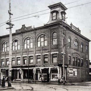 Former Queen's Hall at Bank and Somerset