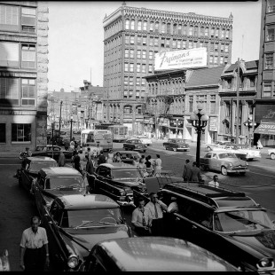 Rideau Street in the 50s