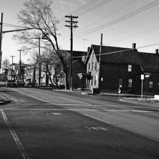 Former Saint-Patrick Street in Lowertown East in Ottawa in 1968