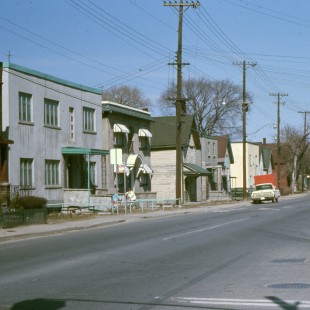 Former segment of Saint-Patrick Street in Lowertown East in Ottawa in 1968