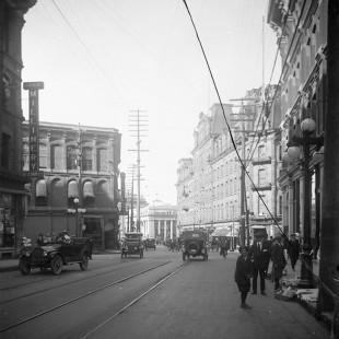 rue Sparks vers le tournant du siècle dernier