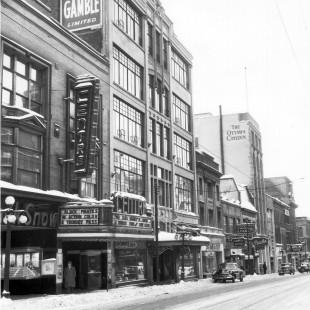 Rue Sparks à Ottawa