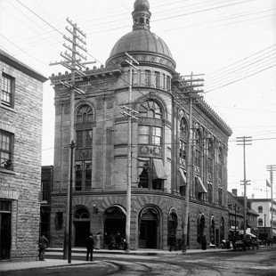 SunLife Building at Sparks and Bank Street in 1901