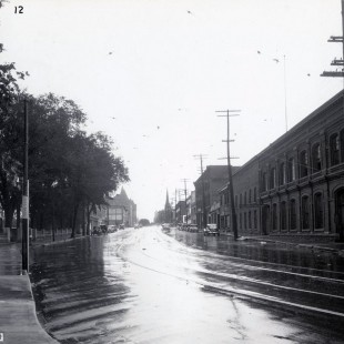 Wellington street in Ottawa in 1938