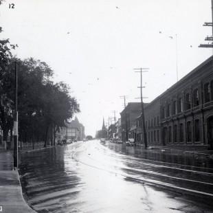 rue Wellington à Ottawa en 1938
