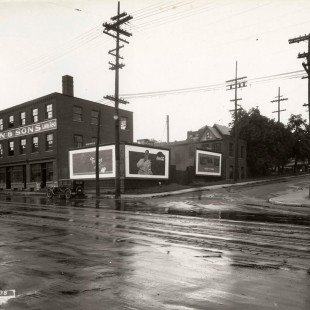 Wellington and Bay Street Intersection in 1938