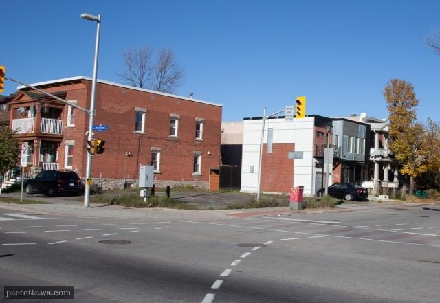 King-Edward Avenue corner of St. Andrew Street in Ottawa en 2013