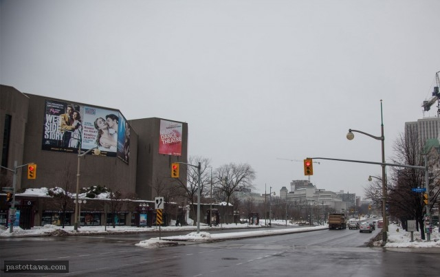 Elgin street in Ottawa in 2013