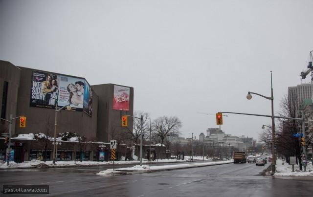 rue Elgin à Ottawa en 2013