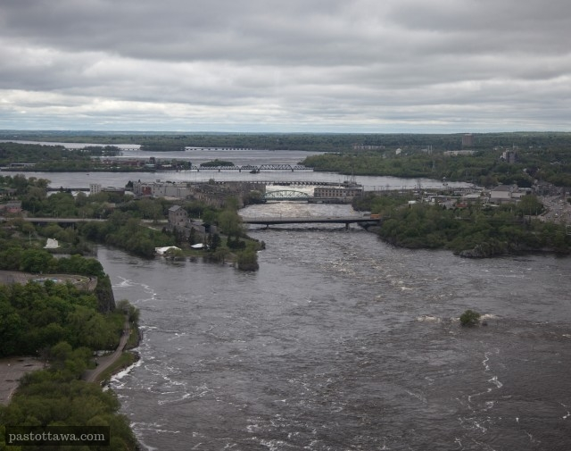 Ottawa River from the Peace Tower