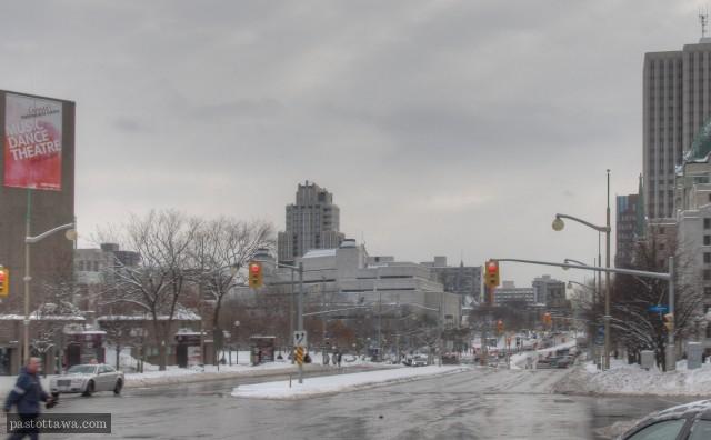 Rue Elgin à Ottawa en 2014